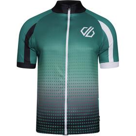 Dare 2b AEP Virtuosity Shortsleeve Jersey Men, ultramarine green hexagon